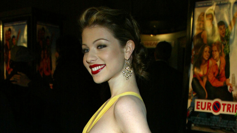 Michelle Trachtenberg at the EuroTrip premiere