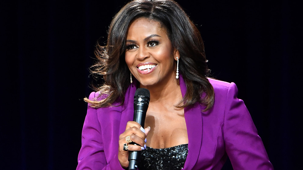 Why Michelle Obama's Birthday Photo Has The Internet Talking
