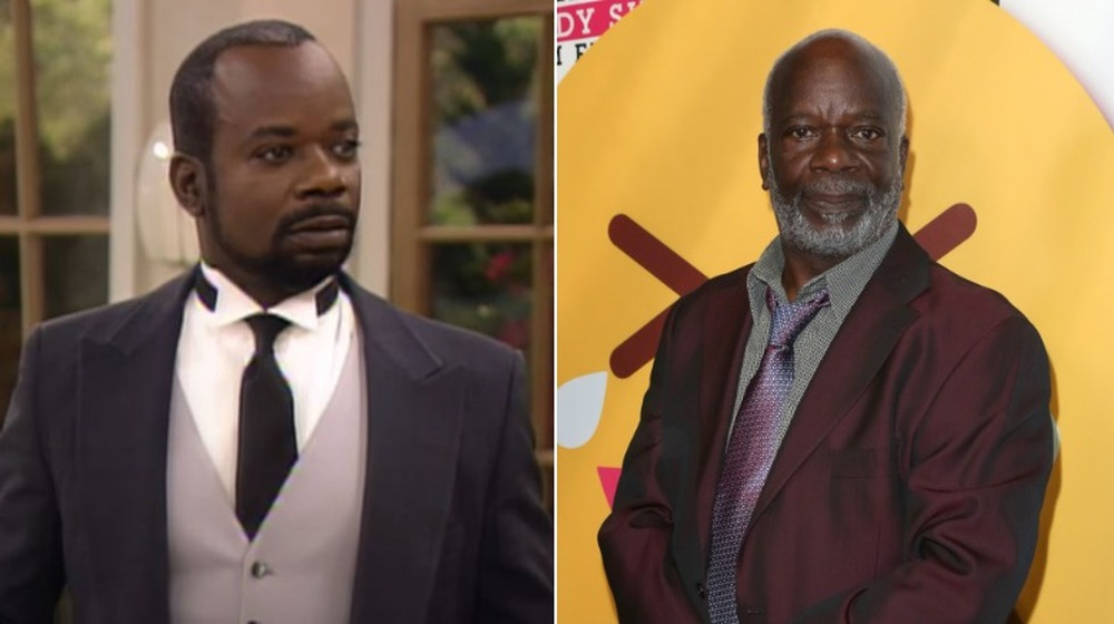 Joseph Marcell on Fresh prince